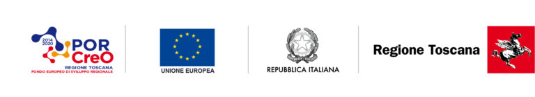 Blocco loghi PORCreo regione Toscana