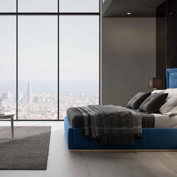 Vista camera da letto linea azzurra - Navigli notte 21